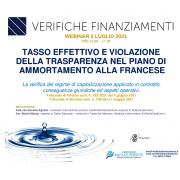 WEBINAR: TASSO EFFETTIVO E PIANO DI AMMORTAMENTO ALLA FRANCESE
