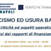 ANC NAPOLI – Convegno: Anatocismo ed Usura Bancaria