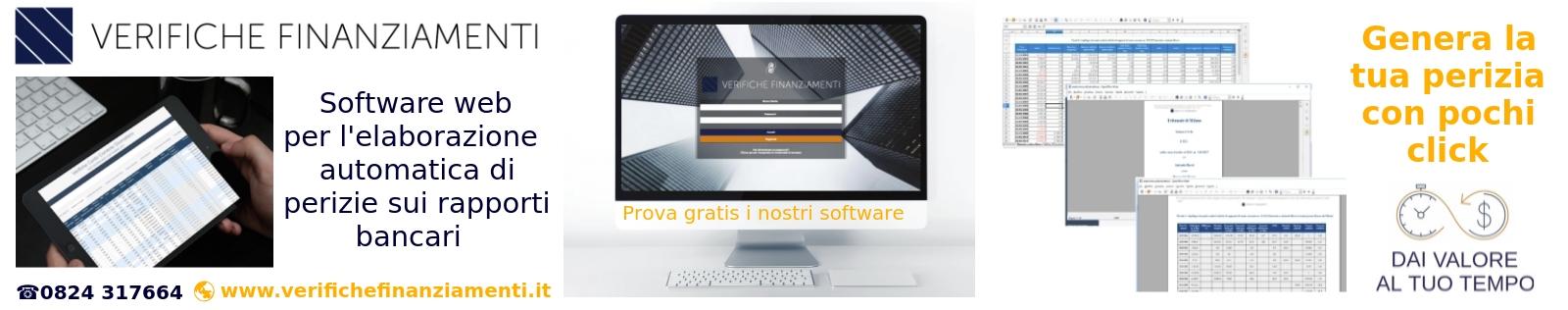 piattaforma software verifiche finanziamenti